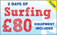 Two days of Surfing only £80